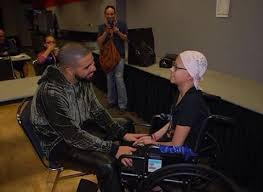 Image result for rihanna and drake fan with cancer