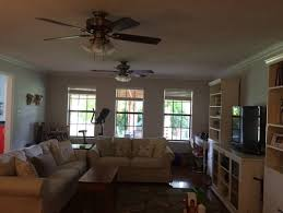 otherwise i may put a different style globe light on the fans any other ideas this room is dark as we have shade trees outside so some over head lighting ceiling fans ugly