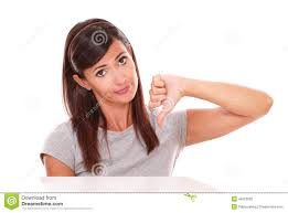 sad beautiful lady bad job gesture stock photo image 46510692 sad beautiful lady bad job gesture