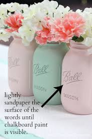 how to paint mason jars a step by step tutorial creating a beautiful classic mason jar