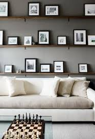 atlanta homes gardens dark gray office white two toned sectional chess board floating picture shelves cococozy black white home office cococozy 5