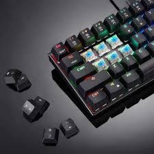 Mechanical Gaming Keyboard 61 Keys <b>Wired</b>/<b>Wireless</b> RGB Backlit ...