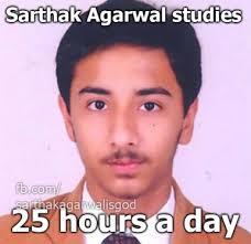 CBSE Topper Sarthak Agarwal Is The New Meme star   Lighthouse Insights via Relatably.com