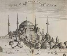「Hagia Sophia when rebuilt in 562」の画像検索結果