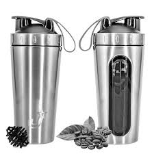 Jay Stainless Steel Metal <b>BPA Free</b>, <b>Leak Proof</b>, <b>Shaker Bottle</b> ( 750 ...