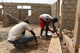 new qualifications help young ians access jobs in young men working in s construction sector
