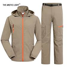 <b>THE ARCTIC LIGHT Men</b> Quick Dry Shirt And Pants Spring Summer ...
