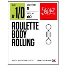 <b>Вертлюги Lucky John Pro</b> Series Roulette Body Rolling