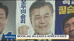 moon ahn and a self described strongman vie to lead south korea per nk