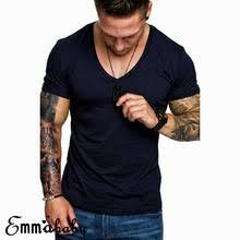 Брендовая одежда 6 видов цветов Мужская <b>футболка с круглым</b> ...