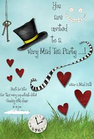 17 best ideas about party invitation templates mad hatters tea party invitation template