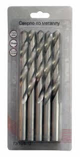 <b>Сверло</b> по <b>металлу</b> 10 мм, HSS (5шт. в блистере) — цена ...