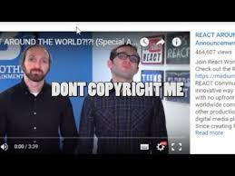 YouTuber with 114 subs has Reaction video to Fine Bros Taken Down ... via Relatably.com