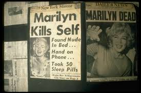「1962 Marilyn Monroe discovered dead home」の画像検索結果