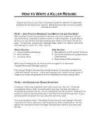 resume examples 12 killer resume tips for the s professional resume examples killer resume templates nanny resume sample nanny skills for 12