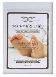 Anskin <b>Пилинг для ног</b> Anskin Natural <b>Baby</b> Foot Peeling Mask ...
