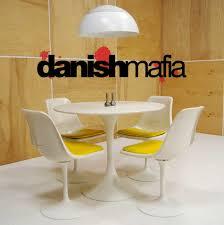 Danish Modern Dining Room Set Vintage Mid Century Modern Knoll Style Burke Tulip Dining Set