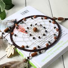 White Feather <b>Indian Dream Catcher</b> - 50% Off + Free Shipping