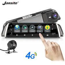 <b>Jansite 4G</b> Dash Cam Android 5.1 Car Camera <b>10</b> inch <b>Touch</b> ...
