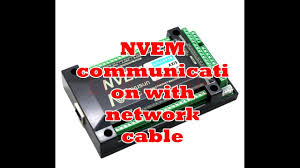 NVEM communication with network cable - YouTube