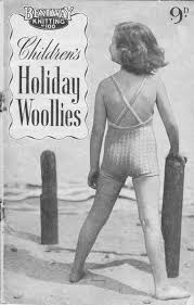 Image result for kids beach wear 1950s
