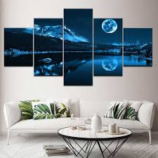 Modern Decoration Home Wall Art <b>Modular</b> Pictures Canvas <b>5</b> ...