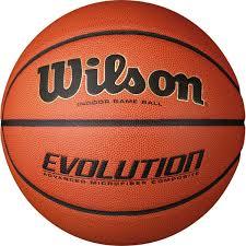 "<b>Мяч баскетбольный Wilson</b> ""<b>Evolution</b>"", цвет: коричневый, размер ..."