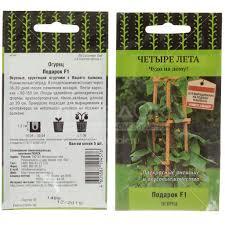 <b>Семена Огурец Подарок F1</b> в цветной упаковке, 5 шт, Поиск в ...