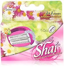 Soft Touch™ <b>6</b> Blade Razor System for Women Cartridges (<b>Dorco</b> ...