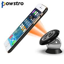 Powstro <b>Magnetic Car</b> Phone Holder 360 Degrees <b>UF A Car</b> Mount ...