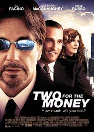 Extra Large Movie Poster Image for Two For the Money - two_for_the_money_ver2_xlg