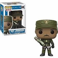<b>Фигурка Funko Pop</b>! Games: <b>Halo</b>: Sgt. Johnson Asst. (Фанко Игры ...