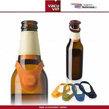 <b>Маркеры</b>-<b>пробки для бутылок</b>, 6 шт, силикон, <b>Vacu</b> Vin ...