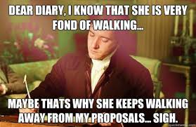 dear diary, i know that she is very fond of walking... maybe thats ... via Relatably.com