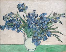 vincent van gogh irises the met share by email