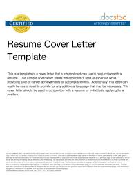 cover letter through email template cover letter through email