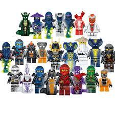 <b>24PCS</b> 31035 NINJAGOES <b>Super Heroes</b> Lloyd ASH Master Vermin ...