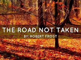beautiful summary of the road not taken by robert frost