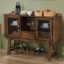 dining room server wine rack