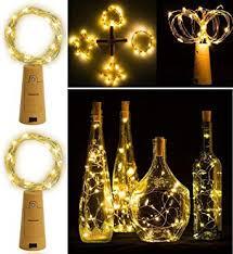 Buy CITRA 20 LED <b>Wine</b> Bottle <b>Cork Lights</b> Copper Wire String ...