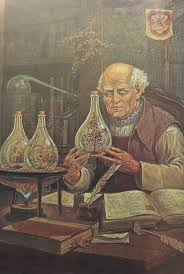 best images about notes on alchemy chemistry modern science paracelsus performing the experiment of palingenesis creation of a new universe see also