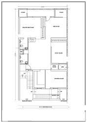House plans for x feet east face plot   GharExpert House    east facing plot House plans for x feet east face plot