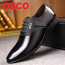 OSCO <b>Luxury brand</b> PU Leather Fashion <b>Business Dress</b> Loafers ...