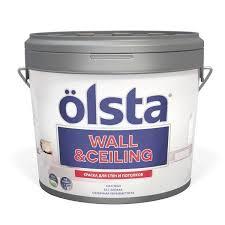 <b>Краска Olsta Wall&Ceiling База</b> С для стен и потолков, 2,7 л купить
