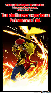 Pokemon Red Blue Ash Pikachu Memes. Best Collection of Funny ... via Relatably.com