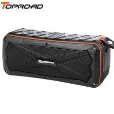 TOPROAD Stereo Wireless <b>Bluetooth Speaker</b> 16W <b>Waterproof</b> IP66 ...