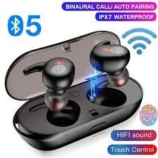 <b>Bluetooth V5</b>.<b>0 Wireless</b> Earbuds <b>TWS Bluetooth</b> Earphones 9D ...