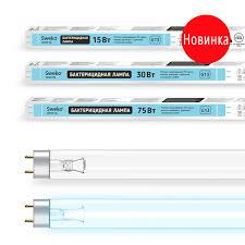 <b>Лампа бактерицидная УФ</b> трубчатая Т8 G13 SSL UVC — <b>Sweko</b>
