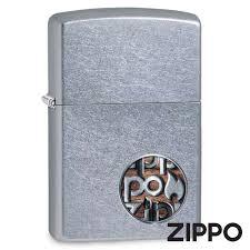 Зажигалка Zippo (Зиппо) Button Logo 29872 ... - ZIPPO-online.com