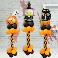 <b>Halloween</b> Balloon Welcome Stand Column Funny <b>Atmosphere</b> ...